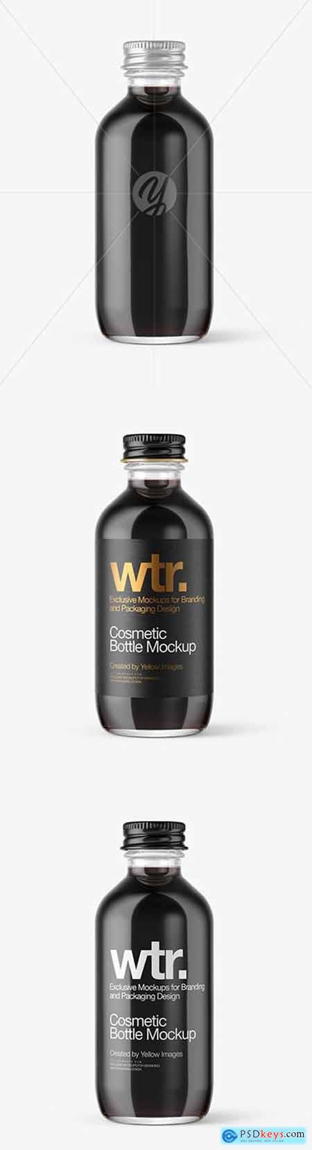 Glass Cosmetic Bottle Mockup 51870