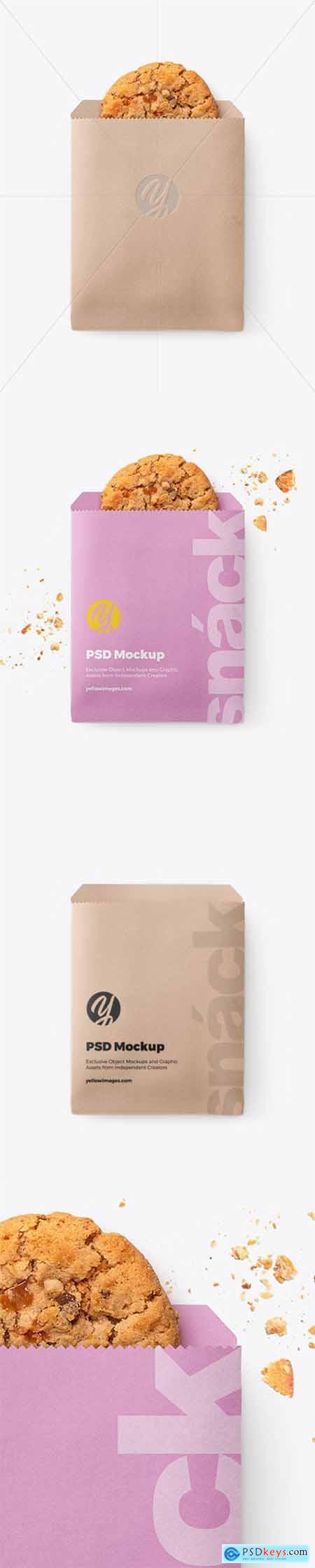 Paper Snack Pack Mockup 51866