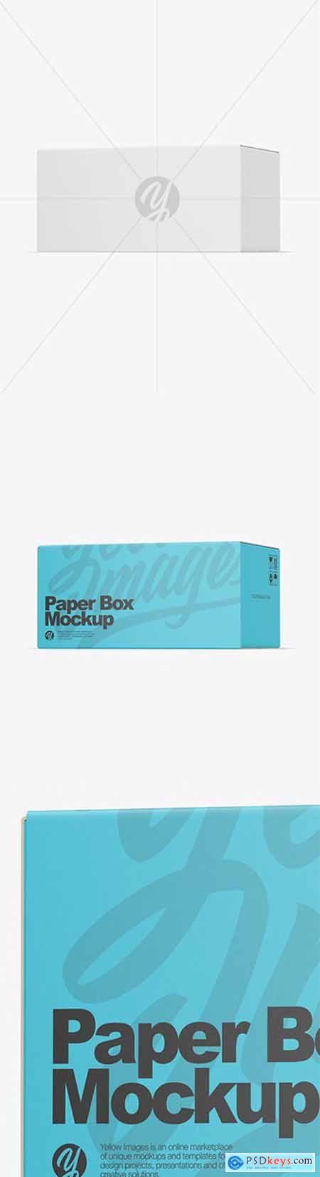 Paper Box Mockup 51875