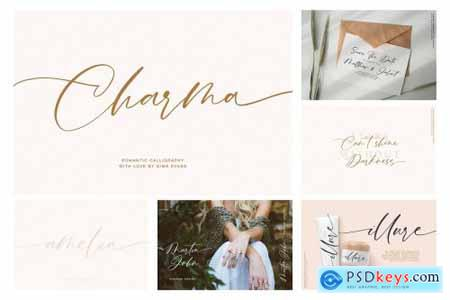 Calligraphy Handwritten Font Bundle 4347240