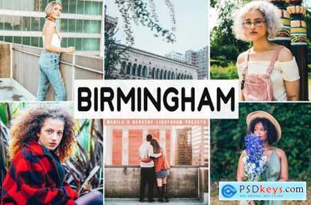 Birmingham Lightroom Presets