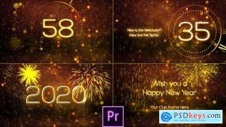 Videohive New Year Countdown 2020 Premiere Pro 25311878