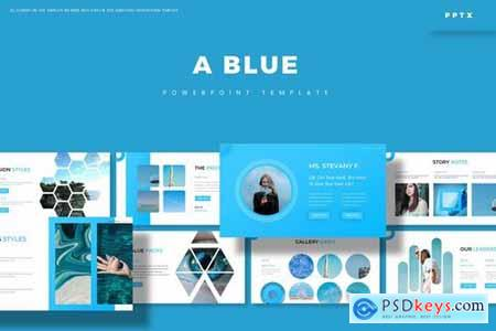 Blue - Powerpoint Google Slides and Keynote Templates
