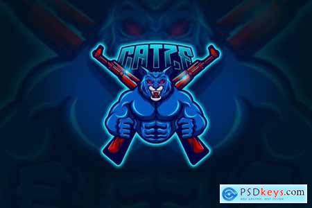 Cats - Mascot & Esport Logo