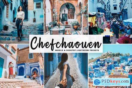 Chefchaouen Mobile & Desktop Lightroom Presets