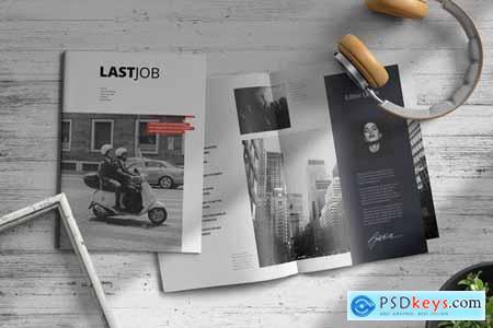 Lastjob Magazine Template