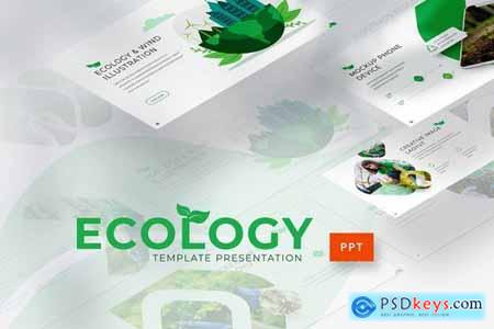 Ecology - Powerpoint Google Slides and Keynote Templates