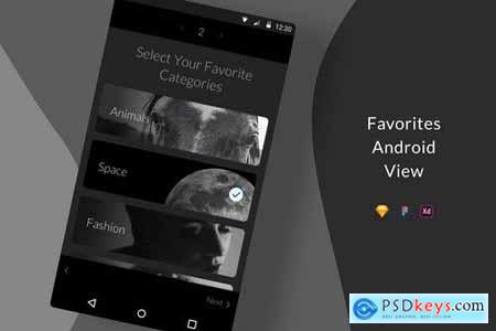 Favorites Android View