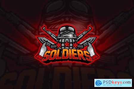 Soldier - Mascot & Esport Logo