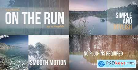 Videohive On The Run - A Travel Slideshow 9520792