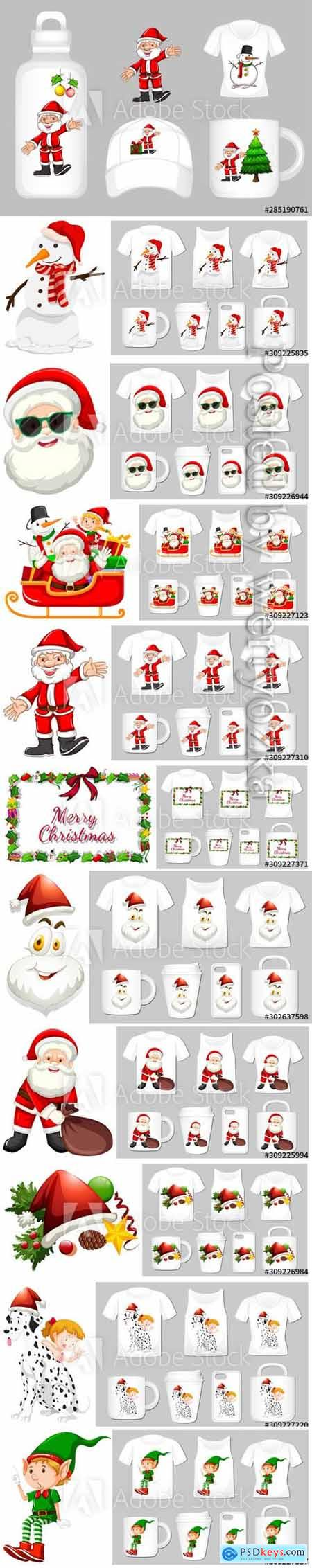 Christmas theme with ornaments on many products572
