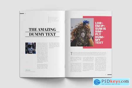 Fantasy Magazine Template 4390298