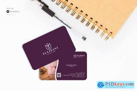 Tulipani Spa - Business Card RB