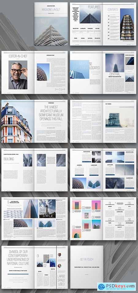 Architecture Magazine Layout 310501073