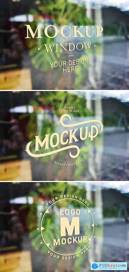 Window Signage Text Effect Mockup 310250179