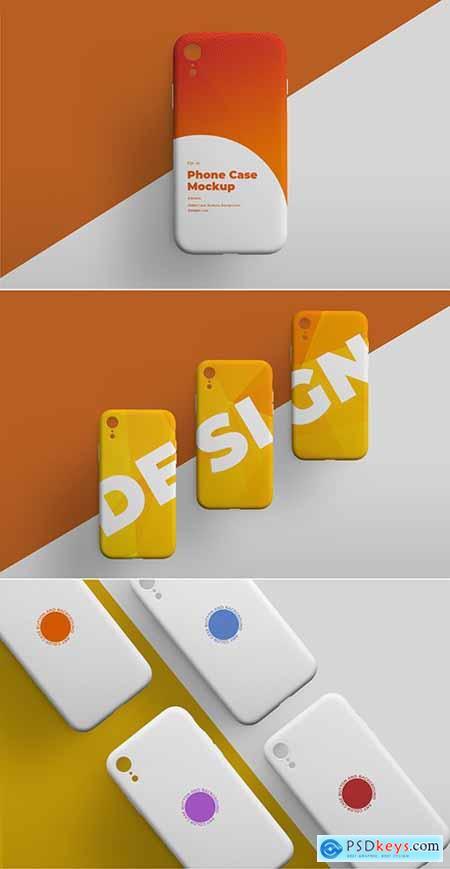 Smartphone Phone Case Mockup Set 307901876
