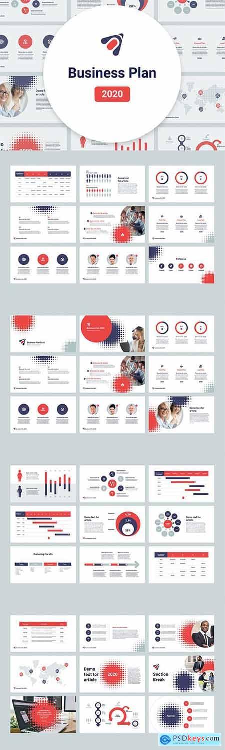 Business Plan 2020 for PowerPoint, Keynote, Google Slides