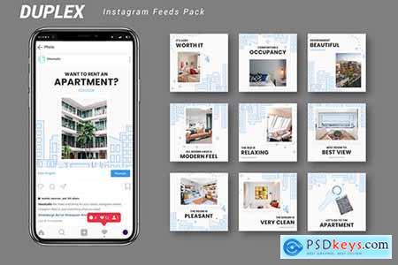 Duplex - Instagram Feeds Pack