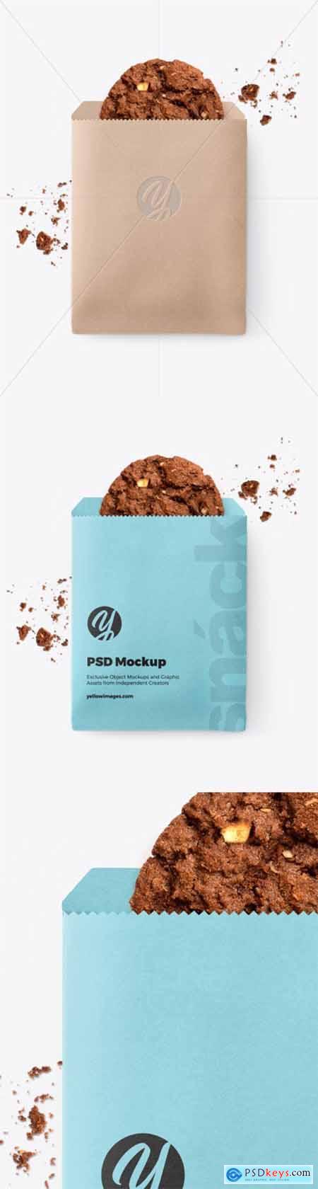 Paper Snack Pack Mockup 51963
