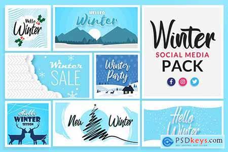 Winter Social Media Templates