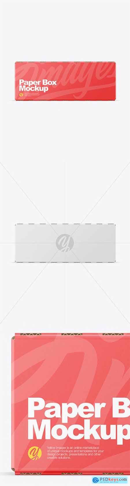 Paper Box Mockup 51960