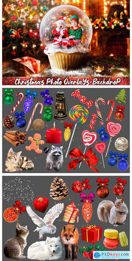 67 Photoshop Overlay Christmas Backdrop 2320769