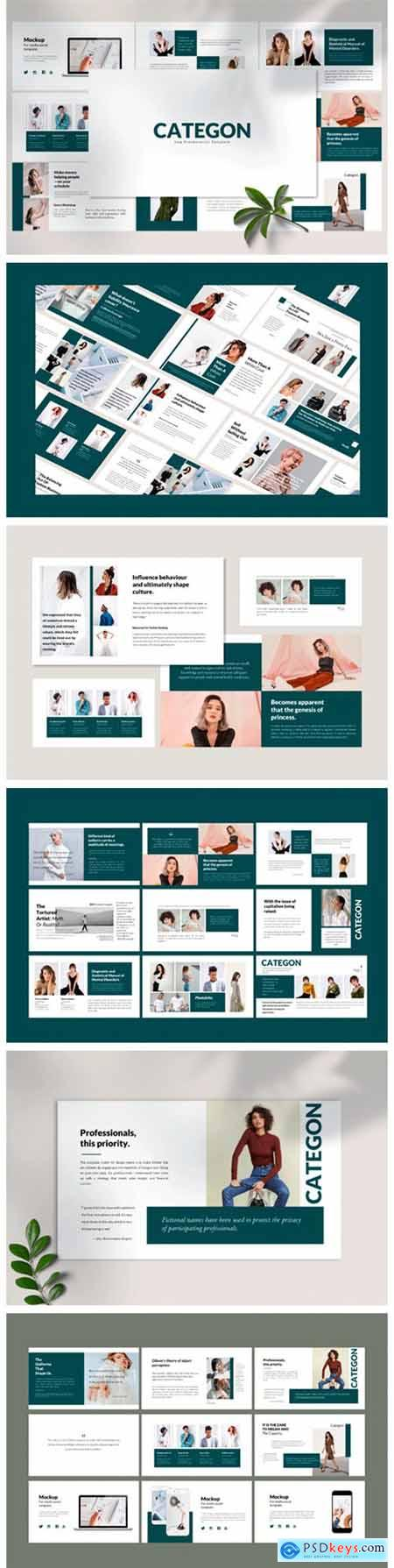 Categon - Google Slides Template 2276699