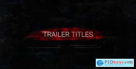 Videohive Action Trailer Titles 20716192