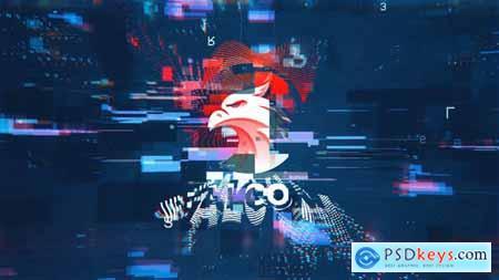 Videohive Pixelization Logo 25083297