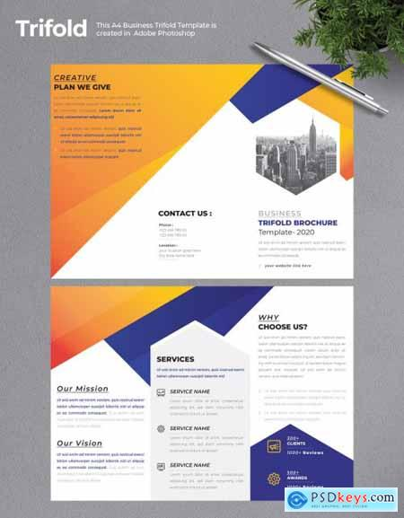Business Trifold Brochure 2