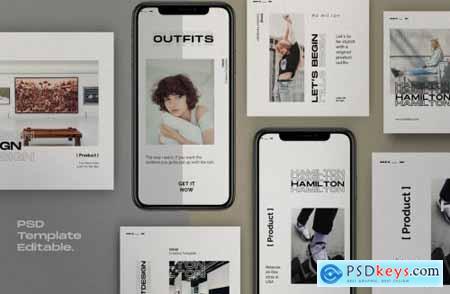 Hamilton Pack 1- Urban Fashion Instagram + stories