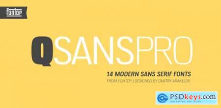 QSansPro Complete Family
