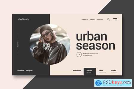Fashion and Clothing - Landing Page
