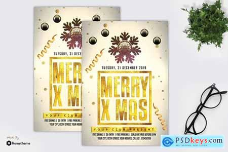 Christmas Party - Flyer MR