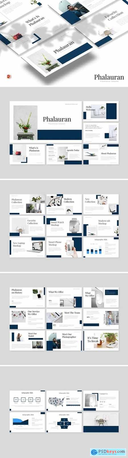 Phalauran Powerpoint, Keynote and Google Slides Templates