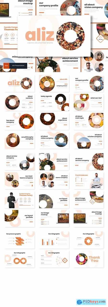 Aliz Powerpoint, Keynote and Google Slides Templates