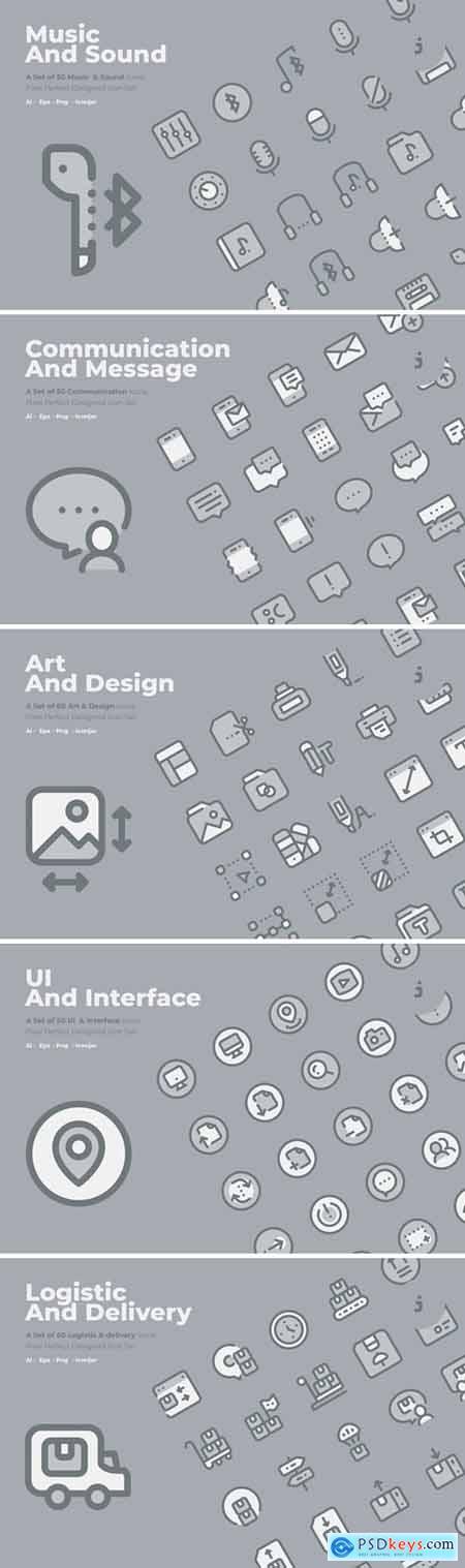 Icon Bundle 48