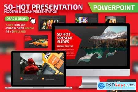 So-Hot Powerpoint, Keynote and Google Slides Templates