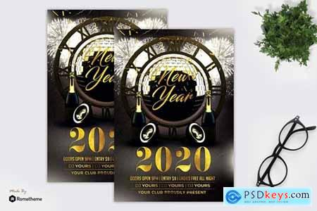 New Year Party - Flyer MR