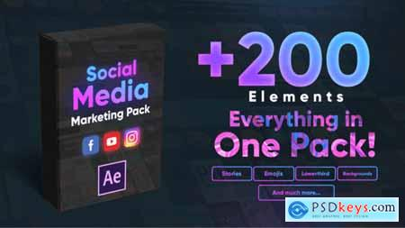 Videohive Social Media Marketing Pack 25324172