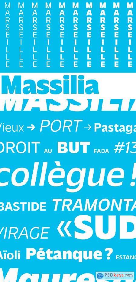 Massilia Font Family