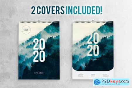 2020 Calendar Template 4401115