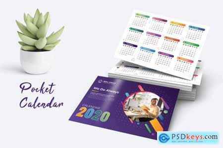 Pocket Calendar 2020 4411216