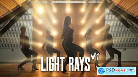 Videohive Light Rays 23717820