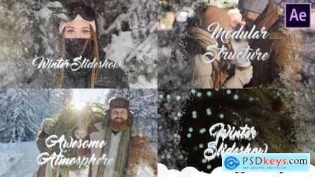 Videohive Winter Opener After Effects 25328467