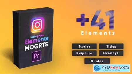 Videohive Instagram Elements Pack-MOGRT 25331110