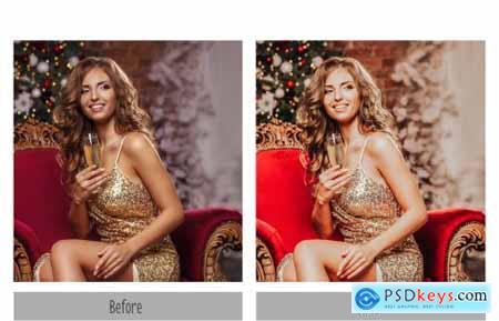10 Christmas Lightroom Presets 4331250