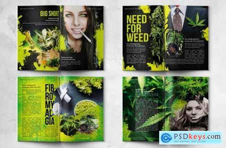 Cannabis Magazine - A4 & US Letter - 28 pgs