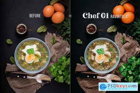Chef - 50 Food Presets 4406657