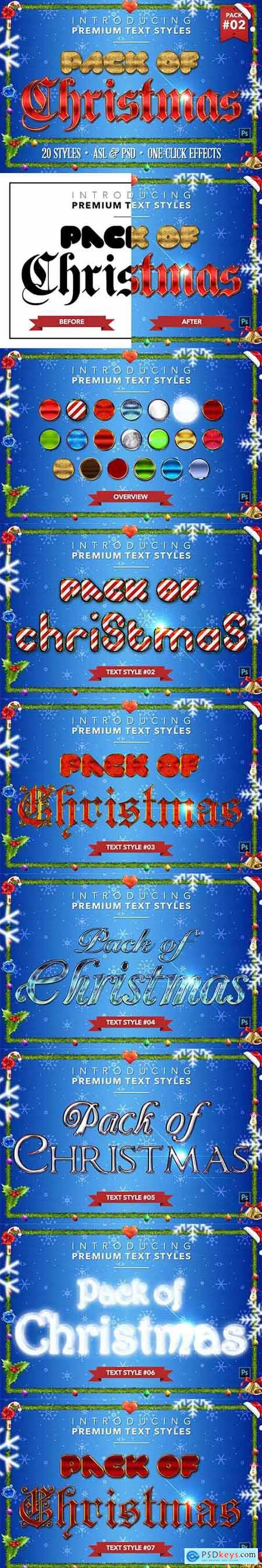 Christmas Pack #2 - Text Styles 4378071